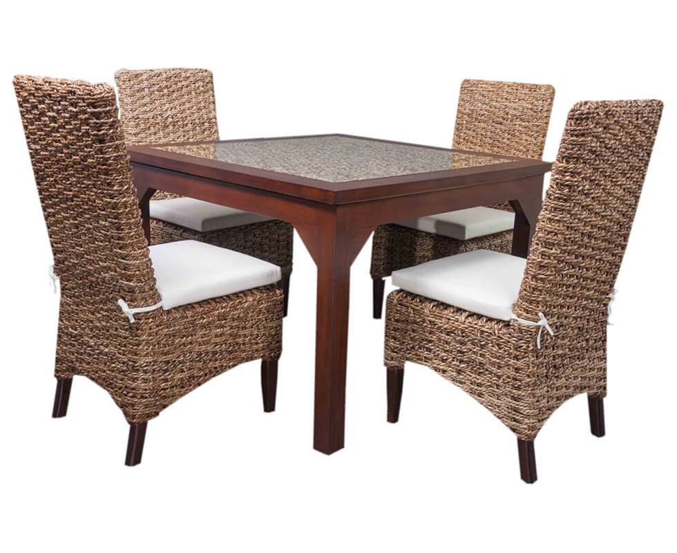 Natural Rope Dining Set