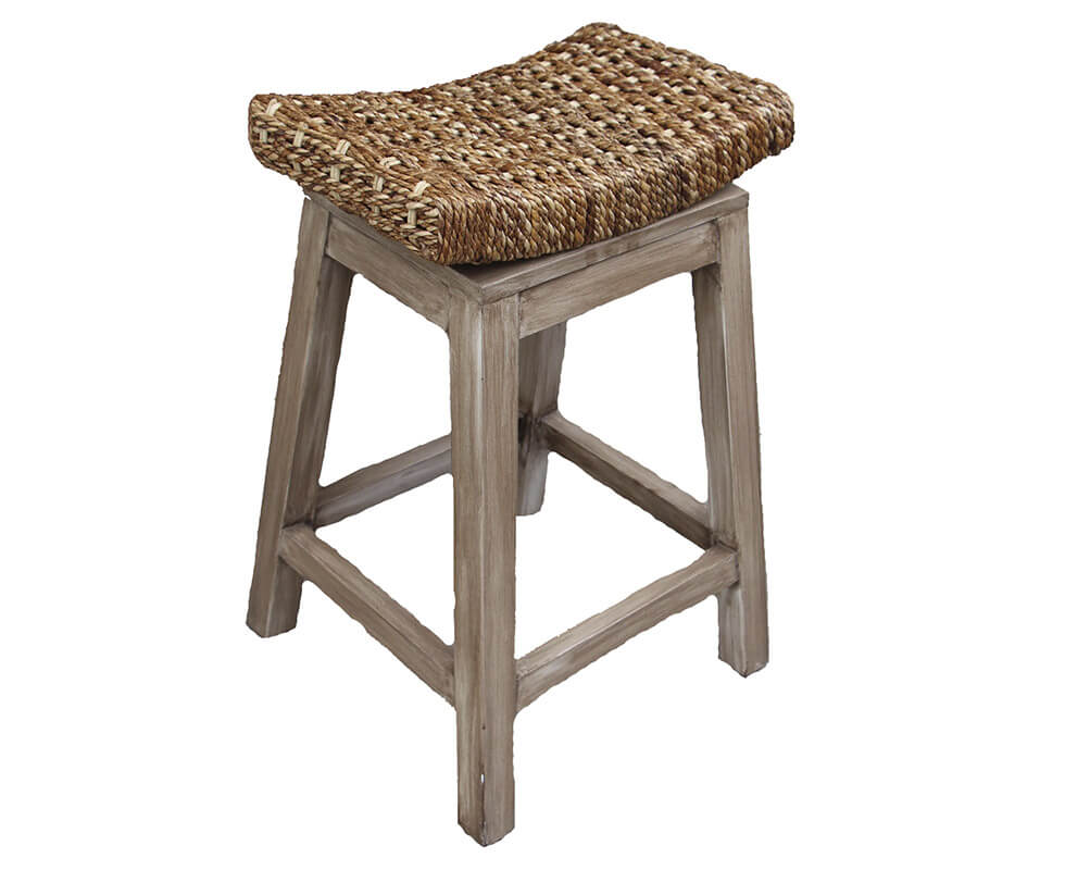 Curve Rope Counter Stool